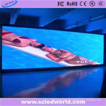 Exhibición interior del alquiler de la pantalla LED a todo color P4.81 para hacer publicidad