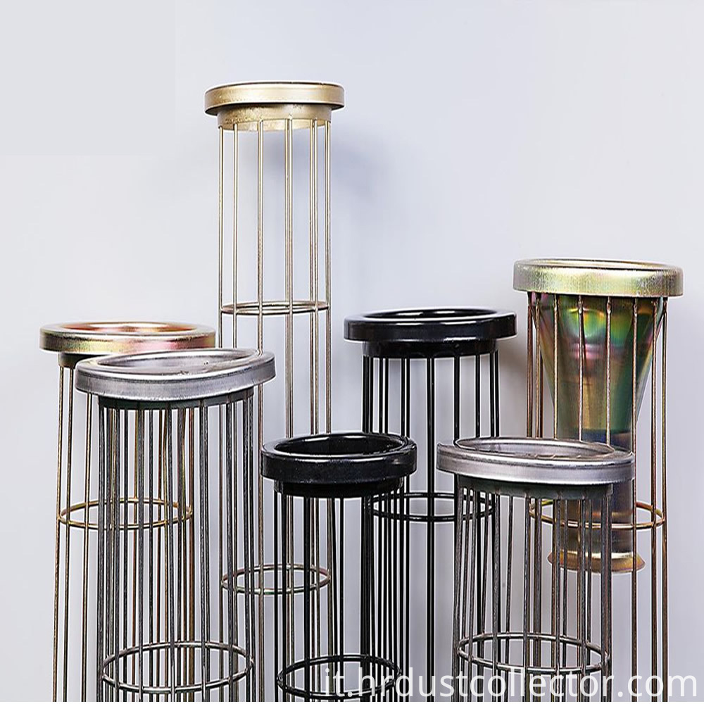 Organosilicon air filter cage bone