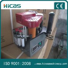 Máquina de tratamento de madeira Bandagem de borda de madeira portátil para PVC de folheado