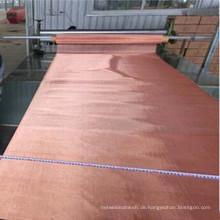 1,65 mx 1,65 mt 2 mesh 4 mesh red kupferfilter drahtgeflecht für pharmazeutische Industrie