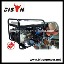 BISON (CHINA) gerador de máquina de solda de gasolina