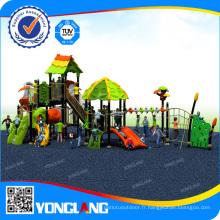 Équipement de glissière de jardin de jardin d'enfants