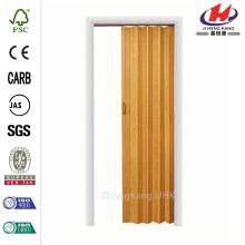 JHK-F01 White Wood Style Interior Accordion Folding Doors
