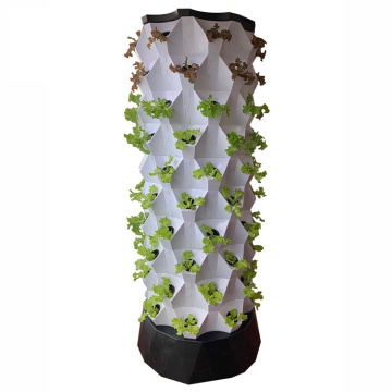 Pineapple  tower hydroponic system
