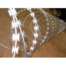 Arame farpado da lâmina (galvanizado & PVC revestido)