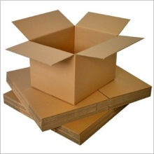 Cartons de papier kraft ordinaire boîte d'emballage en carton ondulé