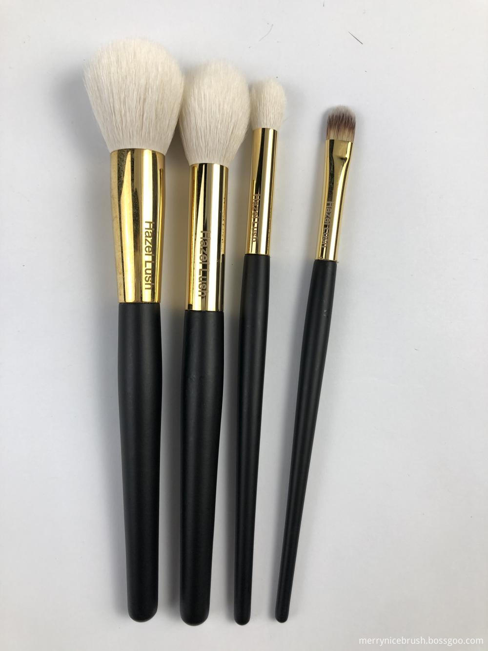 4 Pc Hazel Lush Makeup Brush