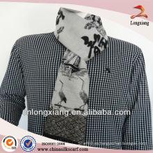 Bufandas de seda viscosa de seda de moda