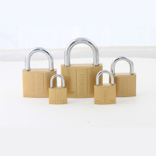 Dual-Line Imitate Brass Padlock with Atom Key 20mm to 75mm Avaliable