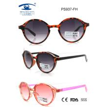Colourful Fashion Style UV400 Plastic Sunglass (PS937)