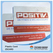 Carte à puce en PVC avec format de carte d'identité d'électeur