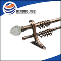 anti copper metal curtain rod and curtain pole