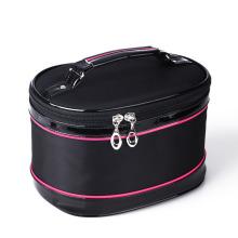 Lady Fashion Nylon Toiletry Wash Cosmetic Travel Bag (YKY7539-3)