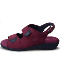 Pansy Summer New Women Comfort Sandals Pansy Hearts Series