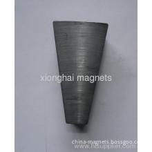 Arc Segment Ceramic Ferrite Magnet Rear Earth Grade C8 For Sale