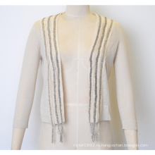 Весенний Fit Knit Women Open Cardigan