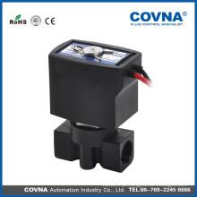 """G1 / 4 """"válvula solenóide de atuação direta NC válvula de plástico de 10 bar"""