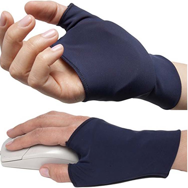 Hand Open 3 Finger Spandex Glove