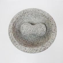 3 kaki Molcajete granit