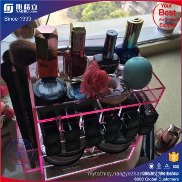 Wholesale Hot Sale New Design Rotating Makeup Lipstick Organizer