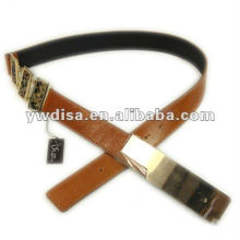 Women Wide Leather Belt