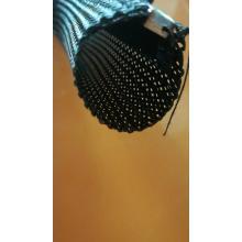 Split Zipper Braided Cable Sleeve