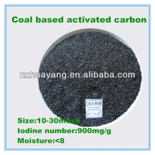 900 Iodine number coal based granular activated carbon manufacturer