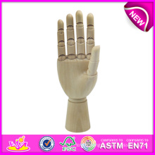 Best Selling Manikin Wood Hand, Flexible Wooden Manikin Hands for Sale, Manikin Flexible Wooden Mannequin Hand W06D042-B