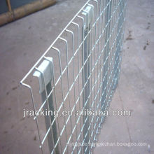 Logistic Customized Pallet Rack Wire Mesh Decking With Support Bars