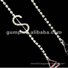 metal diamond bra straps ( GBRD0164)