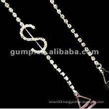 metal diamond bra straps ( GBRD0164)