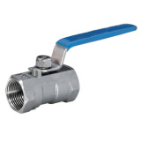Stainless Steel One Piece Ball Valve