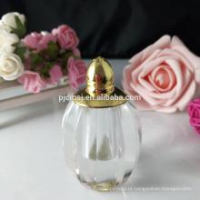 Frasco de perfume de cristal pequeno para deflavour preparação familiar