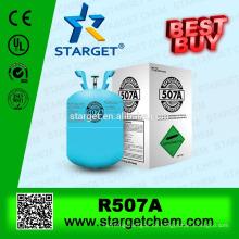 Beste Qualität niedriges GWP gutes Verkaufsklimaanlagengas r507
