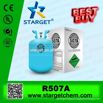 Melhor qualidade Zero ODP Bom gás refrigerante venda r507