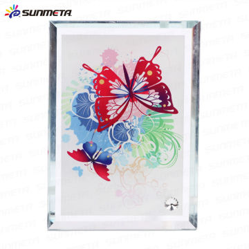 Sublimación Heat Press Glass Photo Frame