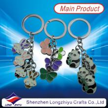Fashion Promotion Souvenir Rabbit Butterfly Panda Metal Key Chain (LZY800004)
