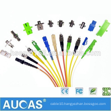 LC SC FC MU MTP MPO MTRJ E2000 Om3 Om4 Fiber Optic Patch Cord , OEM Factory Single & Multimode Fiber Optical