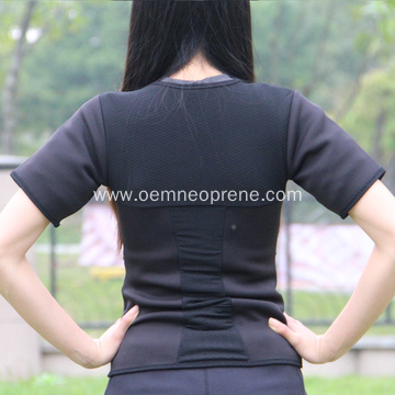 Professional neoprene weight loss shirt for workout