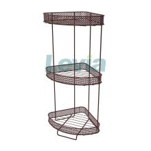 standing shower caddy with basket