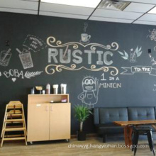 Frameless Advertising Display Decoration Chalkboard