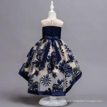 Factory price handmade beautiful little bride dress flower girls dress
