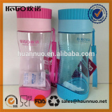 Plastic water cup with lid space bottle sealed bottle