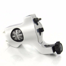 KNIGHT GEN2 ROTARY TATTOO MACHINE - Professional Liner and Shader - Silver