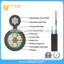 Hot nouveau câble de fibre de sécurité extérieur 12 fils de fibre optique de base GYXTC8S