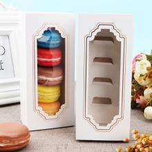 Custom Clear Window Five Macaron Packaging White Boxes (Белые коробки)
