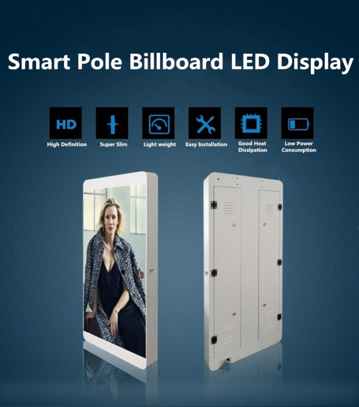 Smart Pole Billboard LED Display