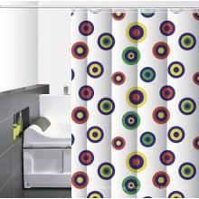 Anneaux en O pour rideaux de douche imprimés pour salle de bains