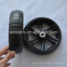6 x 1.75 EVA mousse solide pneu rempli petite roue en plastique