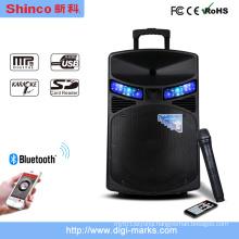 Bluetooth Wireless Speaker Outdoor Sport Portable DJ Karaoke Speaker